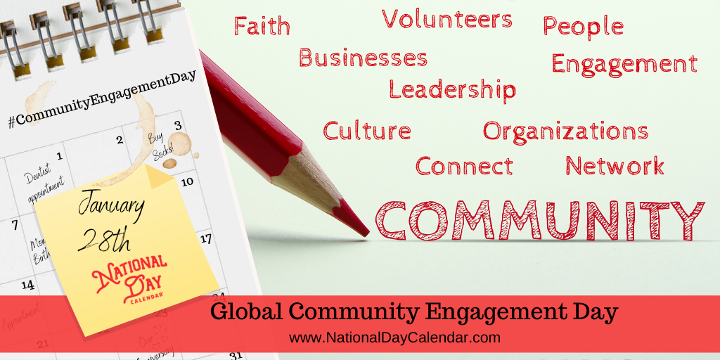 Global Community Engagement Day - January 28th