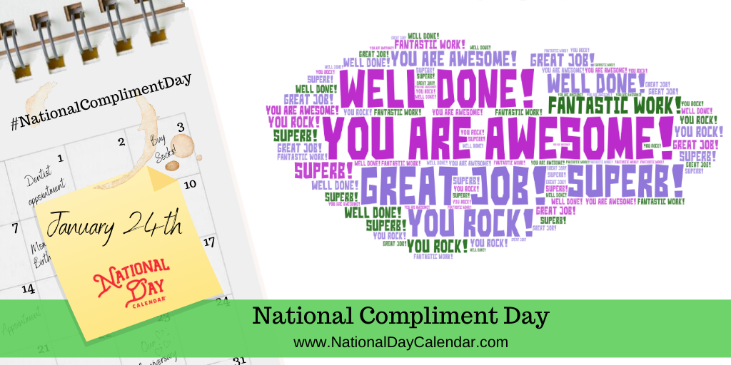 NATIONAL COMPLIMENT DAY – January 24