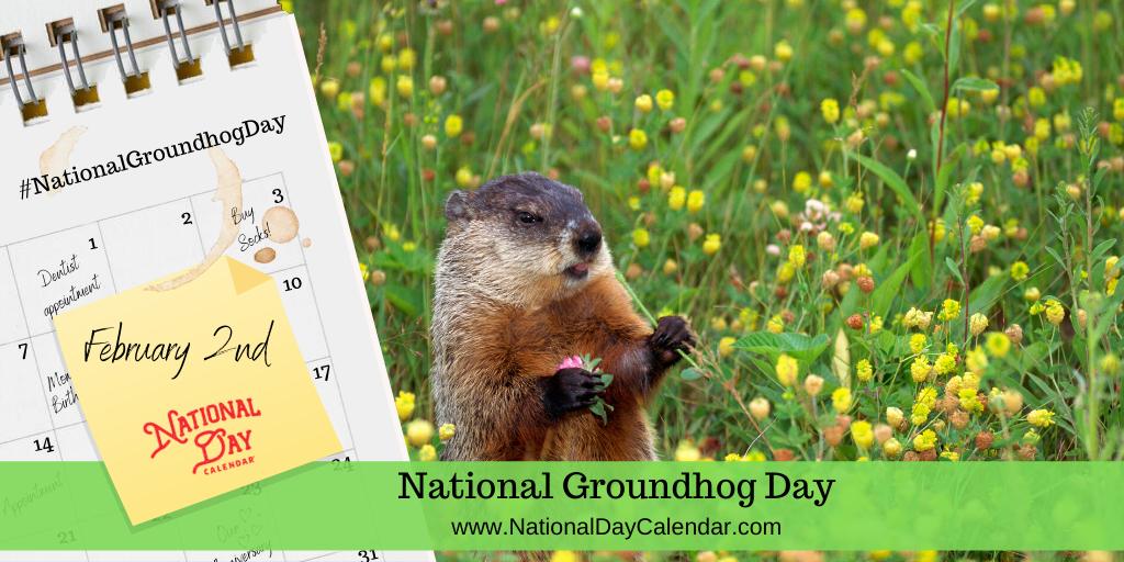 NATIONAL GROUNDHOG DAY – February 2