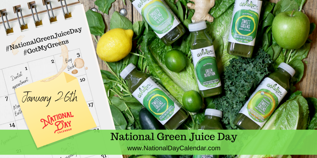 National Green Juice Day – January 26