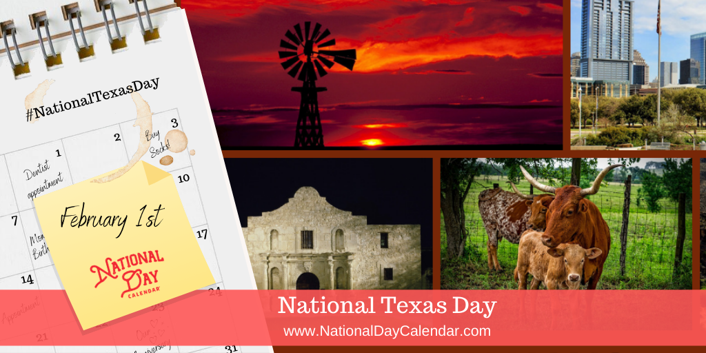 National Texas Day - February 1