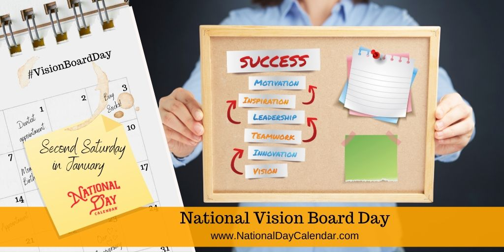 National Vision Board Day