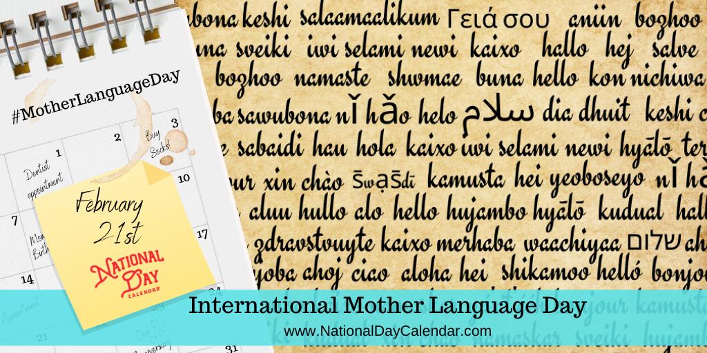 International Mother Language Day - February 21