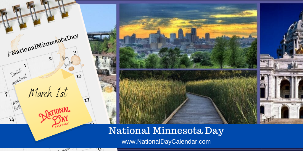 NATIONAL MINNESOTA DAY - March 1