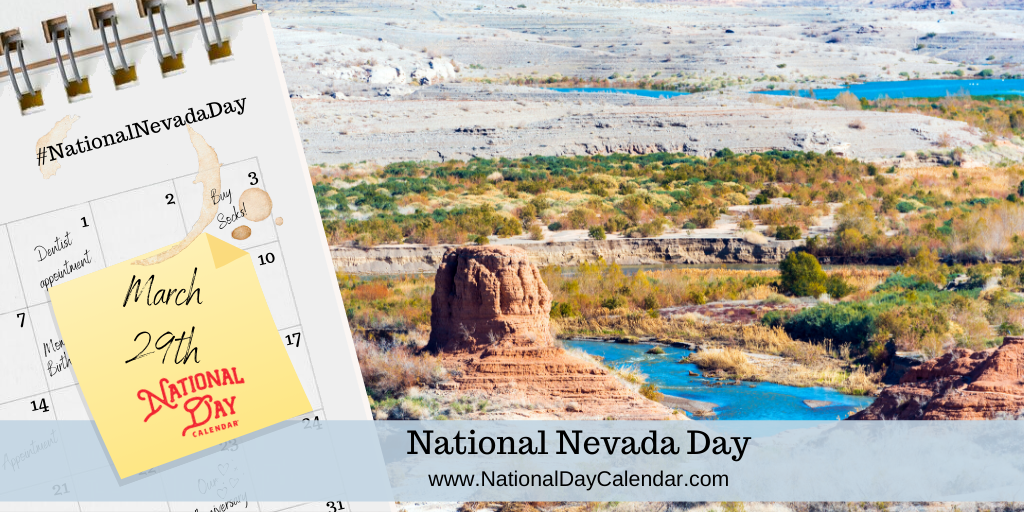 NATIONAL NEVADA DAY - March 29