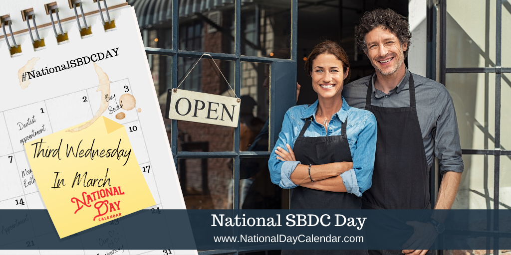 NATIONAL SBDC DAY – Third Wednesday in March