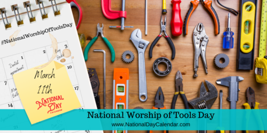 NATIONAL WORSHIP OF TOOLS DAY – March 11