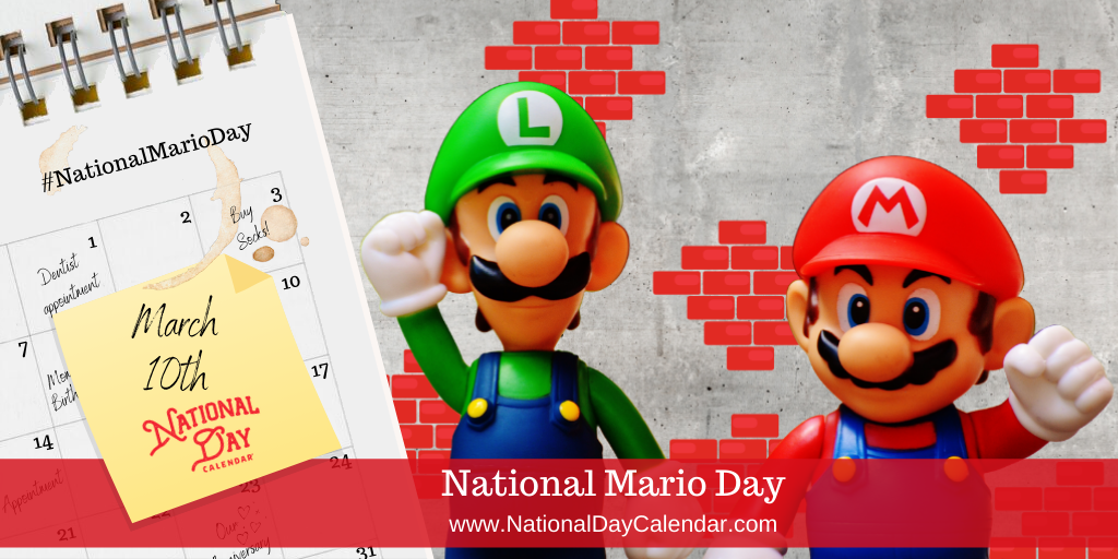National Mario Day - March 10th