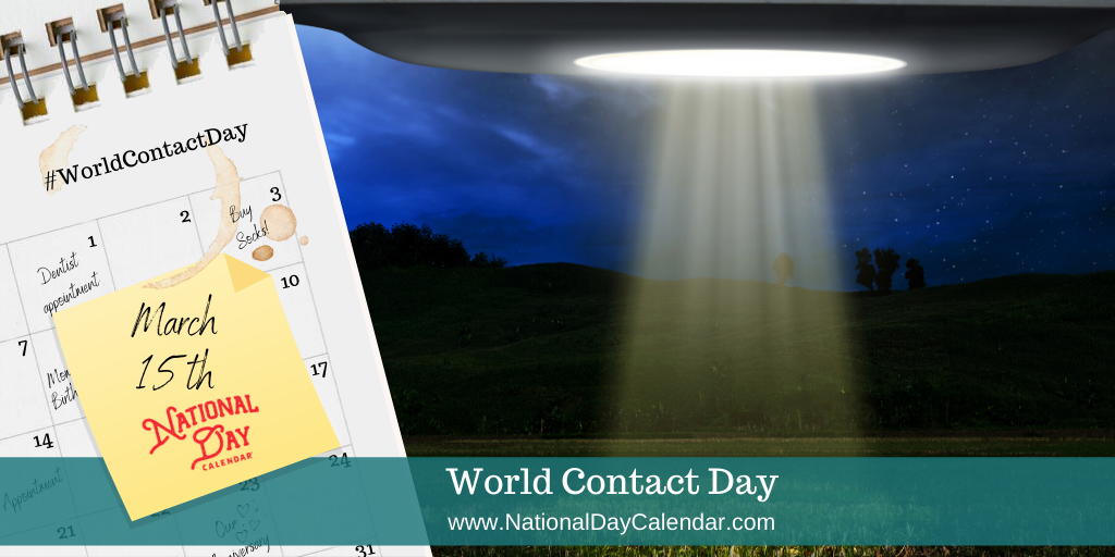 World Contact Day - March 15