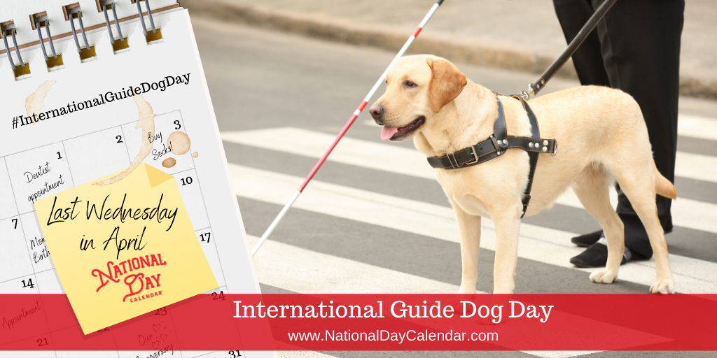 International Guide Dog Day - Last Wednesday in April