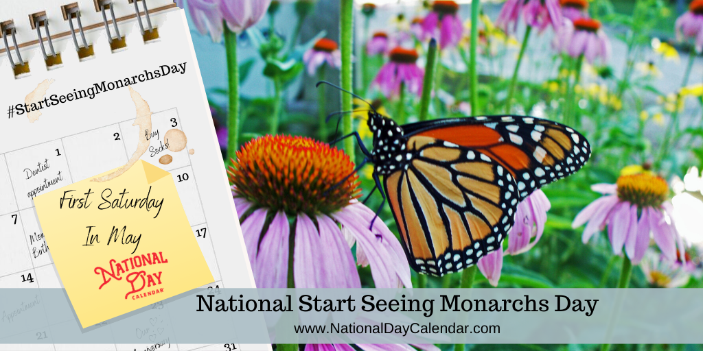 National Start Seeing Monarchs Day – First Saturday In May