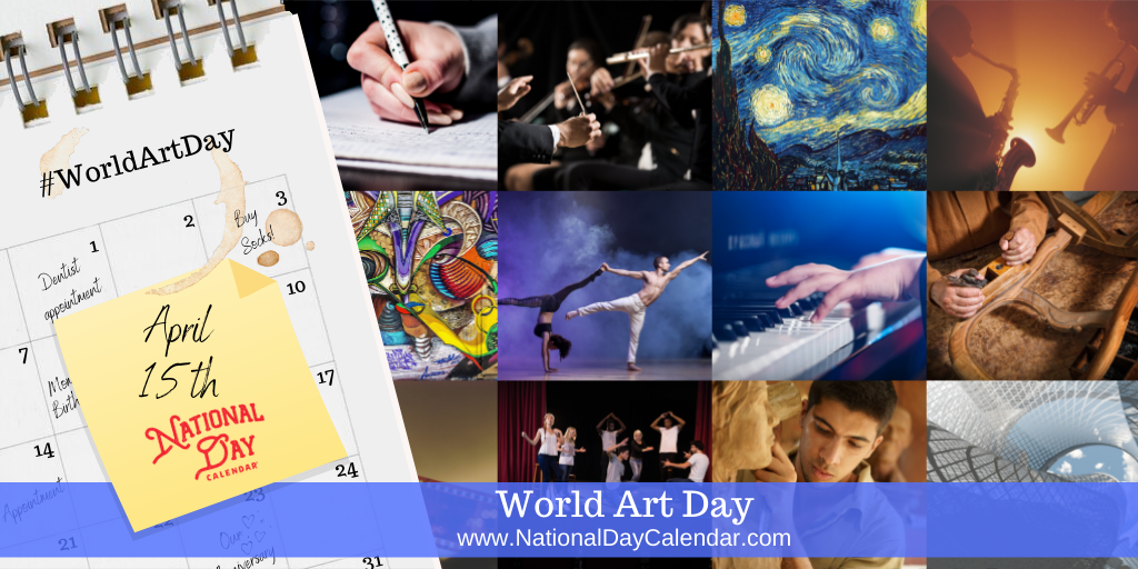 World Art Day - April 15