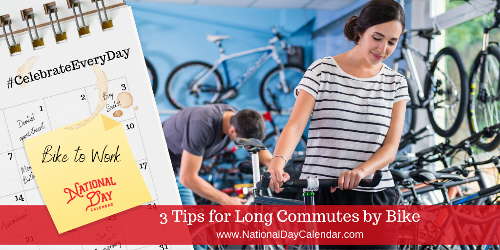 3 Tips for Long Commutes by Bike
