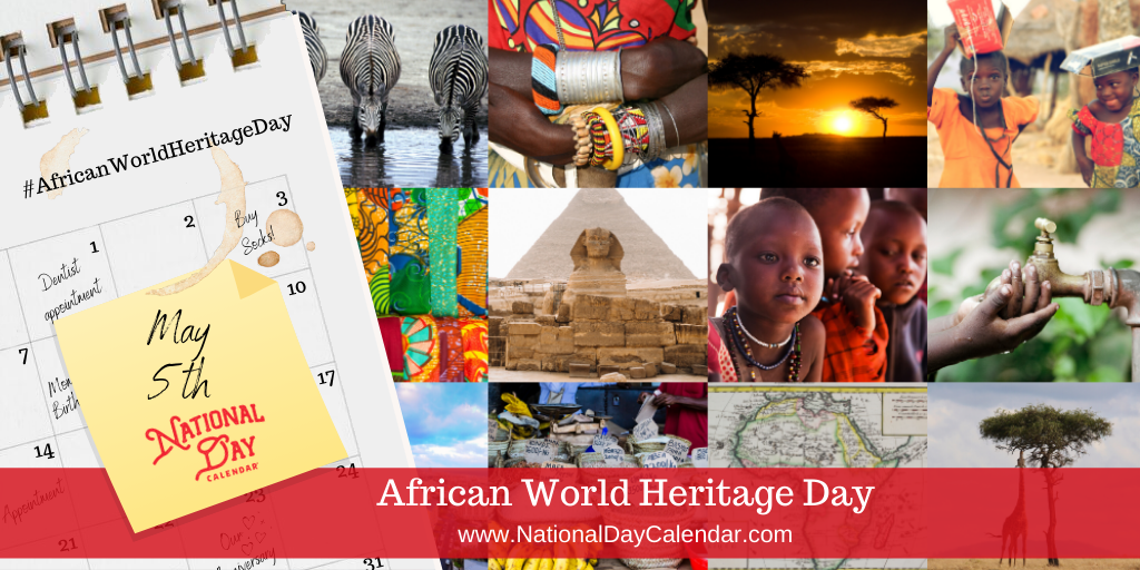 African World Heritage Day - May 5th