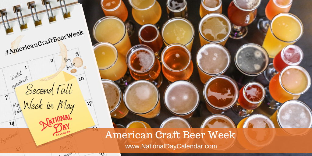 American Craft Beer Week - Second Full Week in May