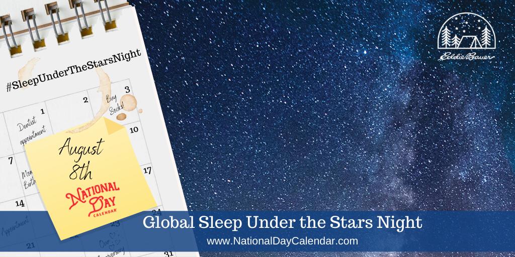 Global Sleep under the Stars Night - August 8th