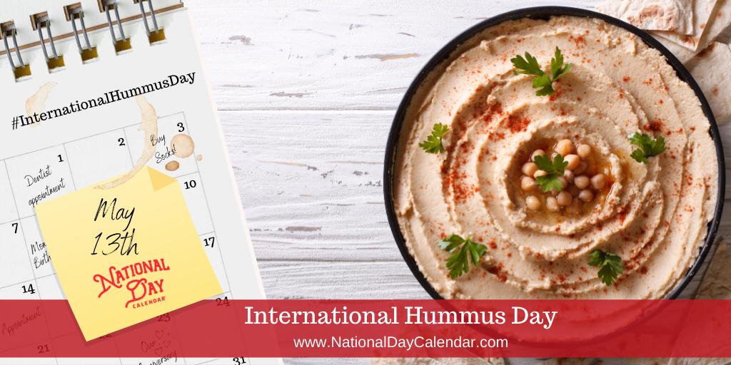 International Hummus Day - May 13