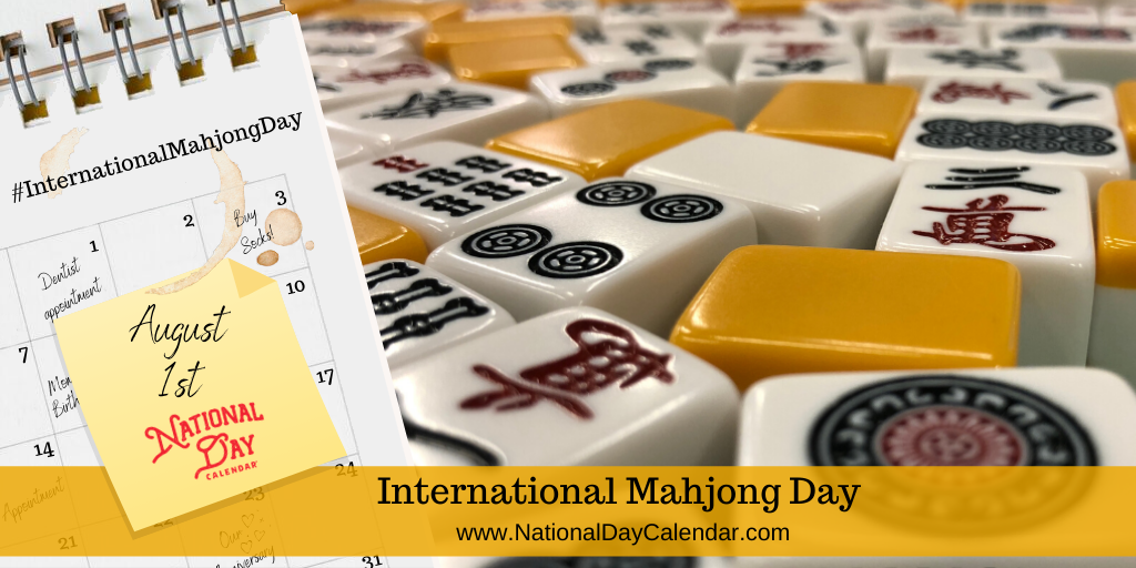 International Mahjong Day - August 1st