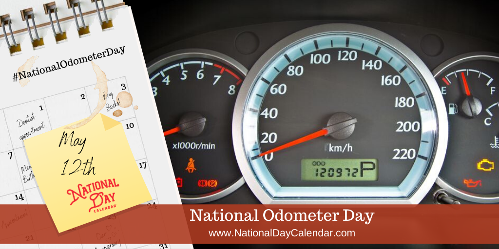 NATIONAL ODOMETER DAY – May 12