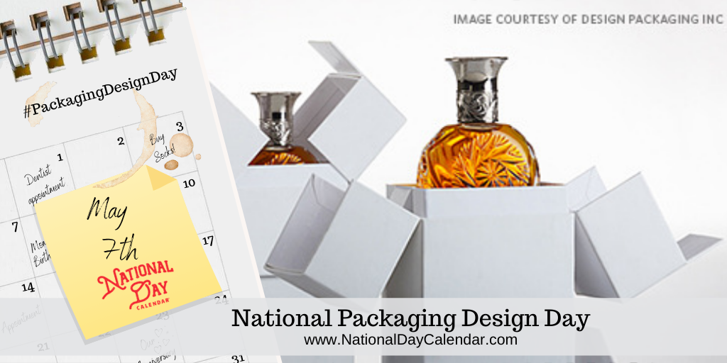 NATIONAL PACKAGING DESIGN DAY – May 7