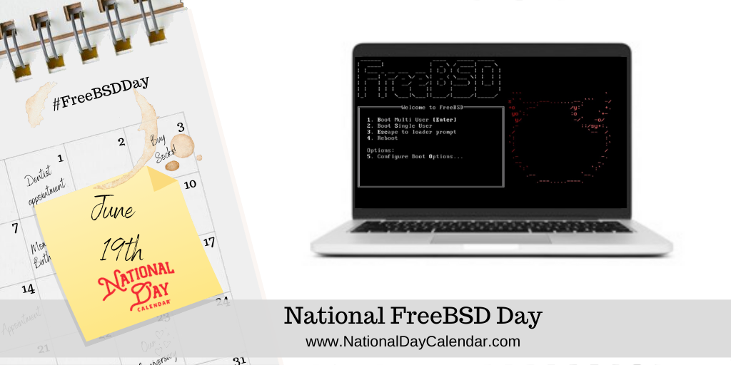 NATIONAL FREEBSD DAY – June 19