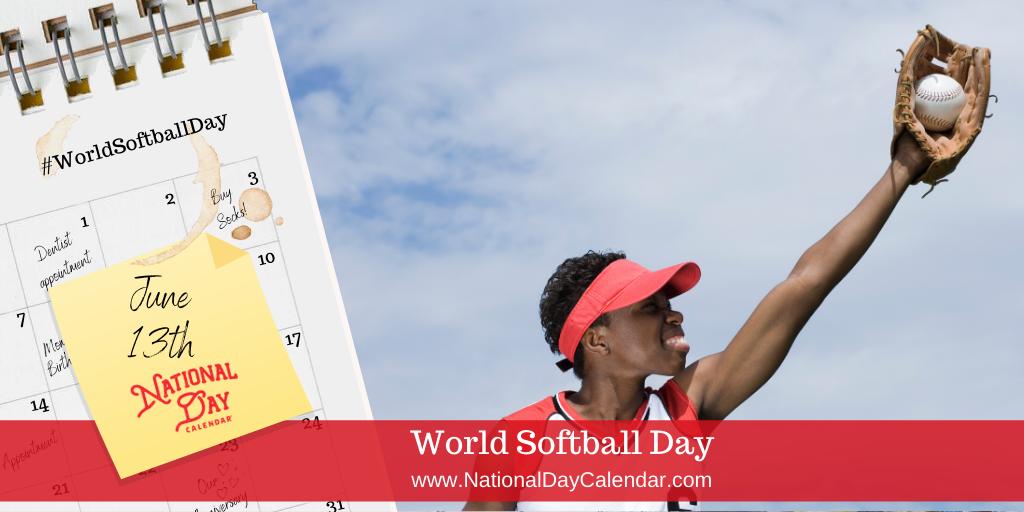 World Softball Day - June 13