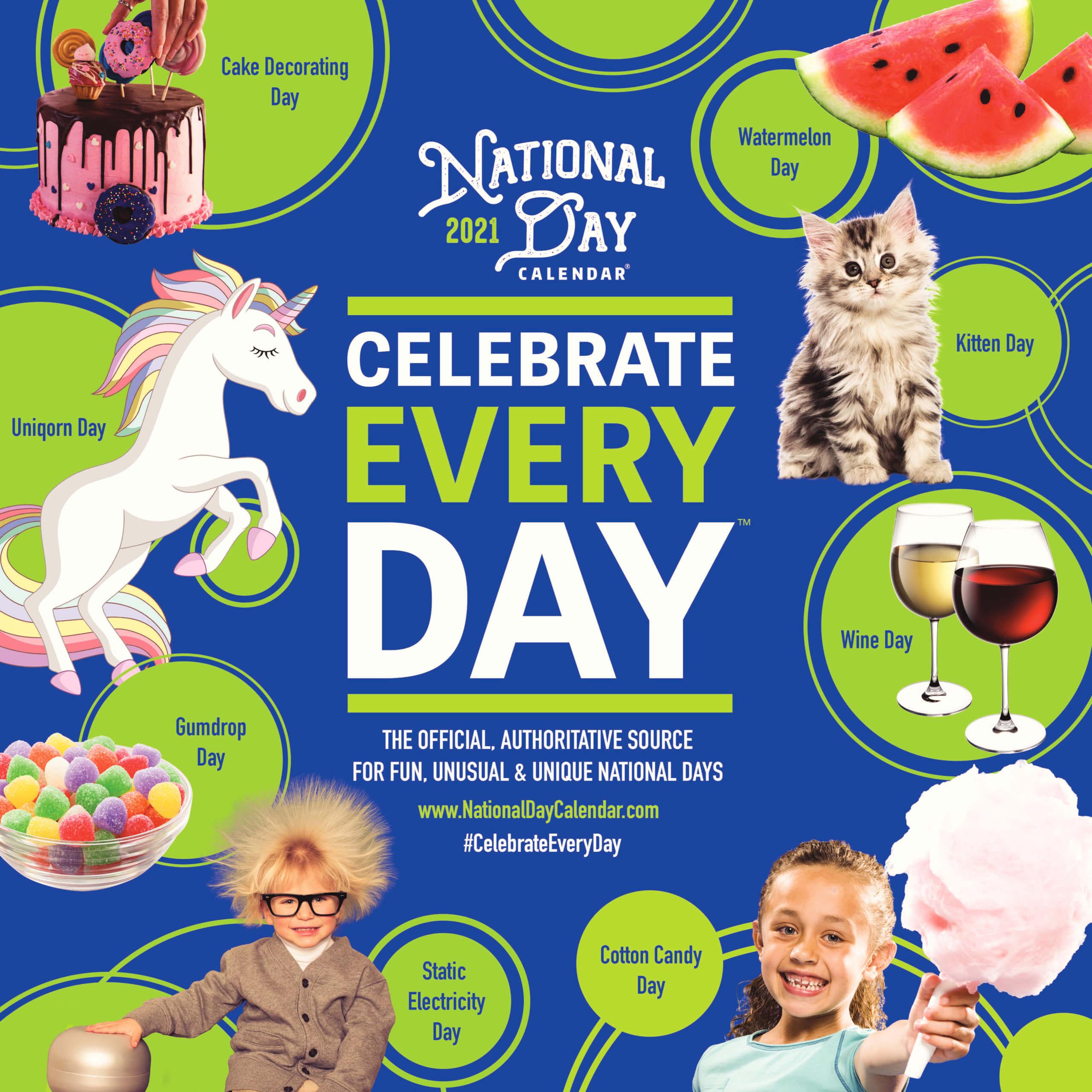 National Calendar 2021 2021 National Day Page A Day Calendar