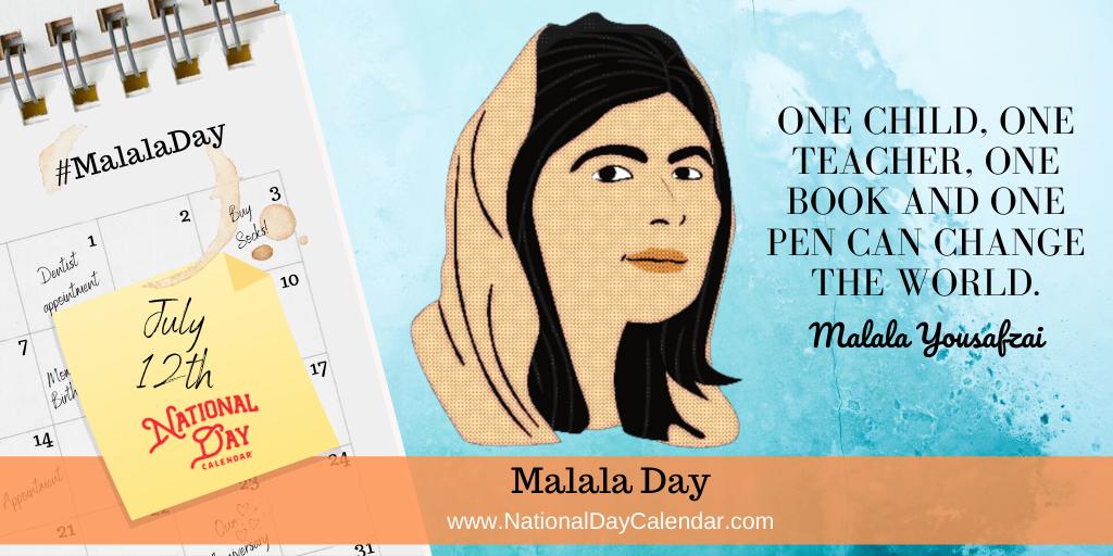 Malala Yousafzai - Malala Day