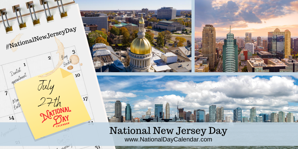 NATIONAL NEW JERSEY DAY - July 27