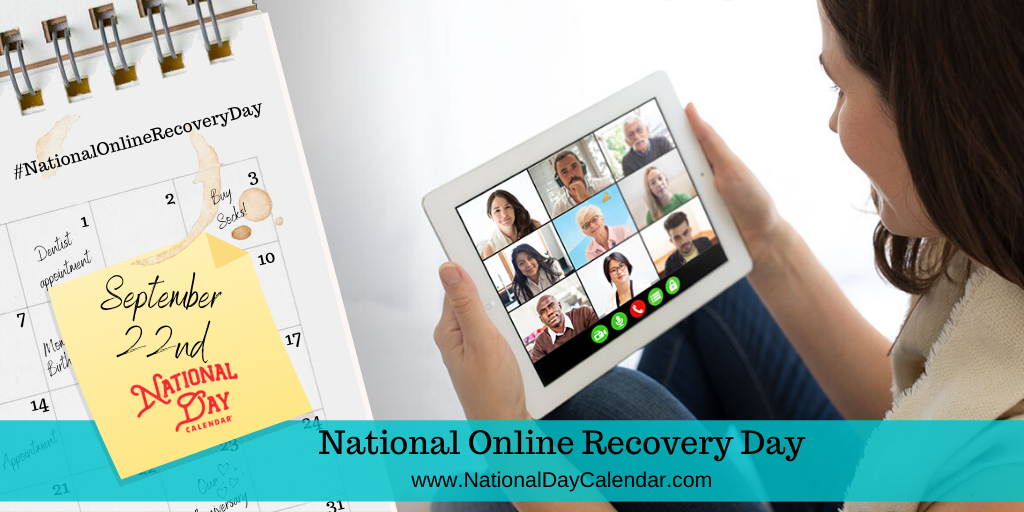 National Online Recovery Day - September 22nd
