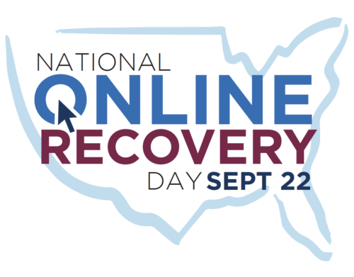 National Online Recovery Day logo