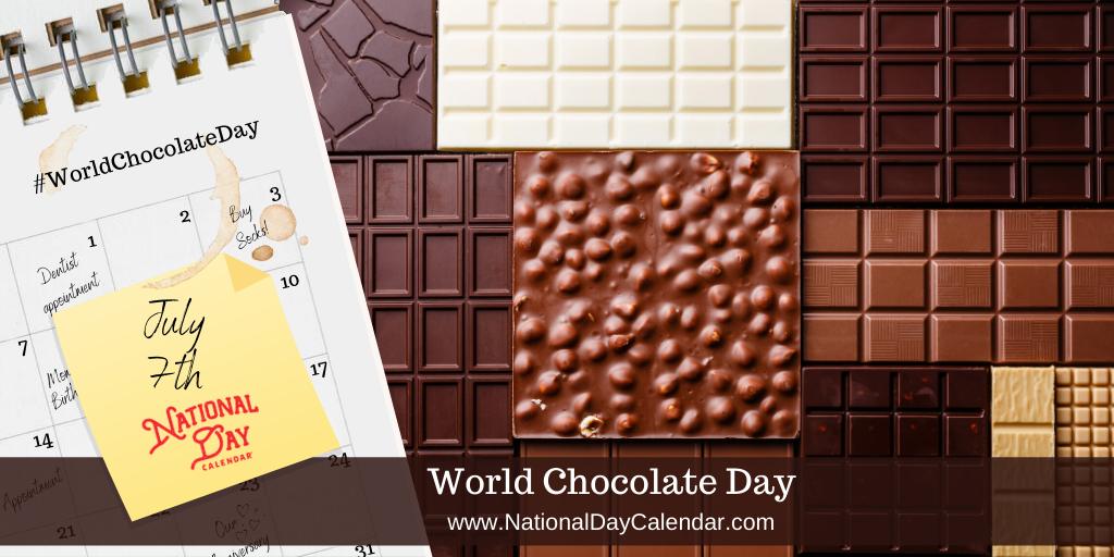 World Chocolate Day - July 7