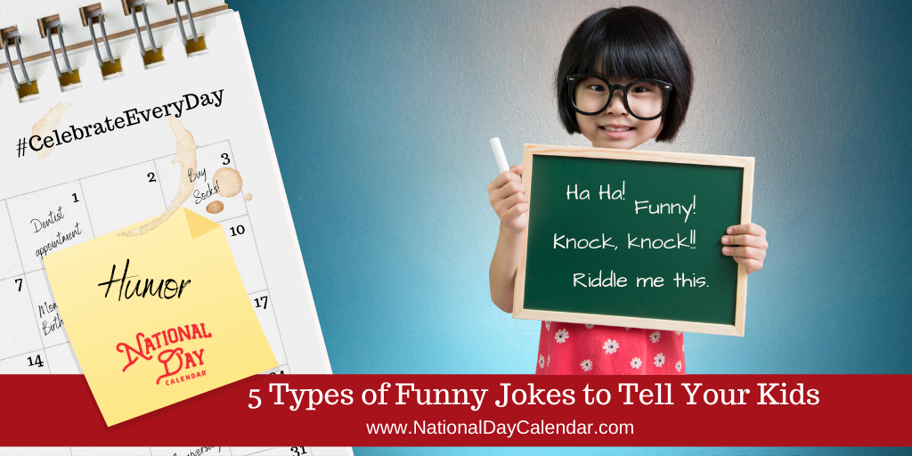 5 Types of Funny Jokes to tell Your Kids