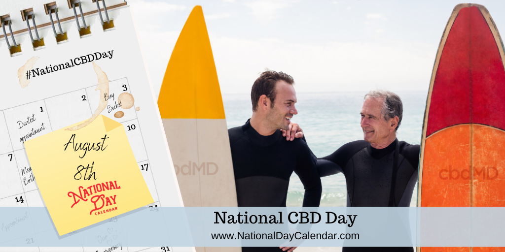 NATIONAL CBD DAY - August 8