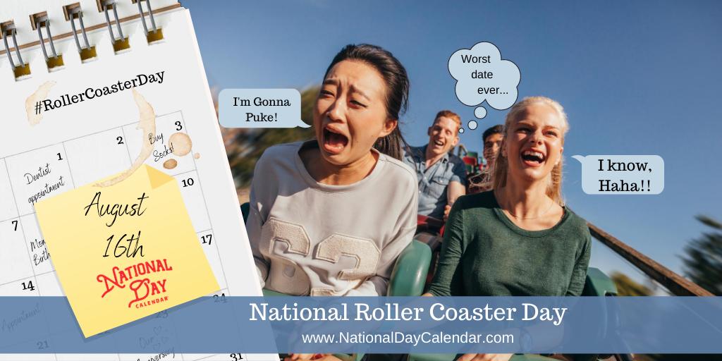 NATIONAL ROLLER COASTER DAY – I'm Gonna Puke!