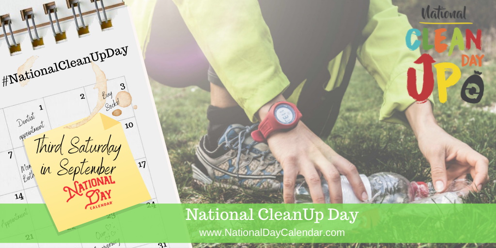 National CleanUp Day - Third Saturday in September