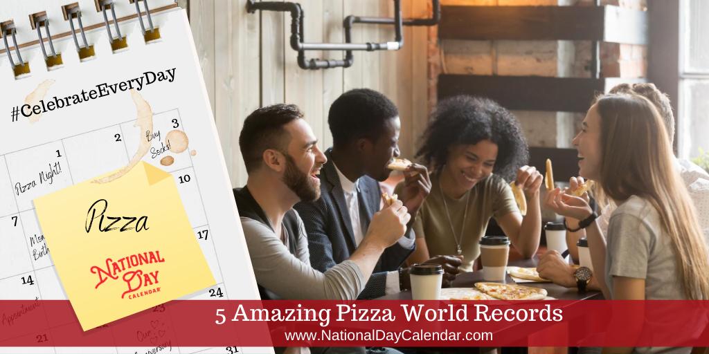 5 Amazing Pizza World Records