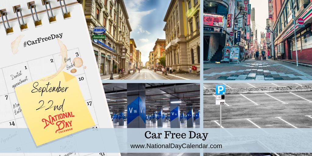 CAR FREE DAY – September 22