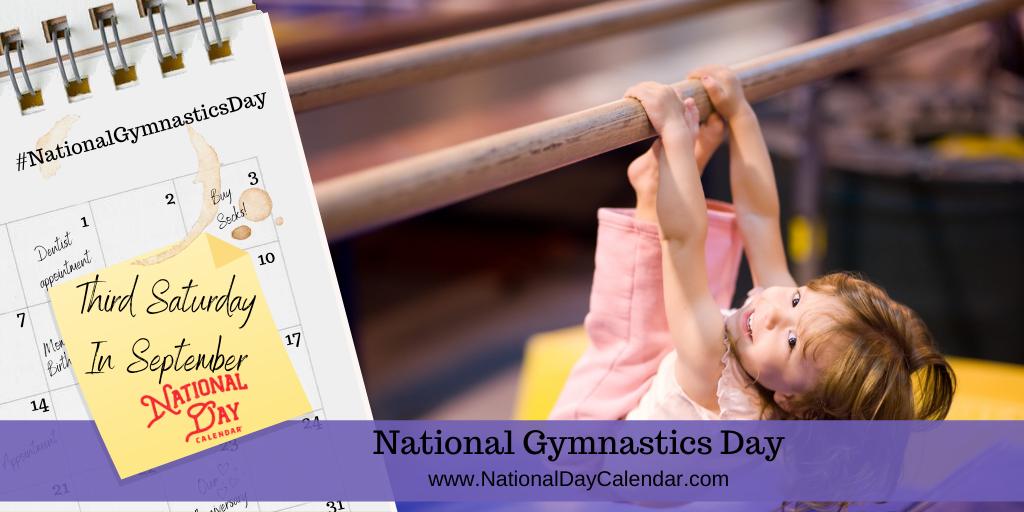 NATIONAL GYMNASTICS DAY – Third Saturday in September (1)