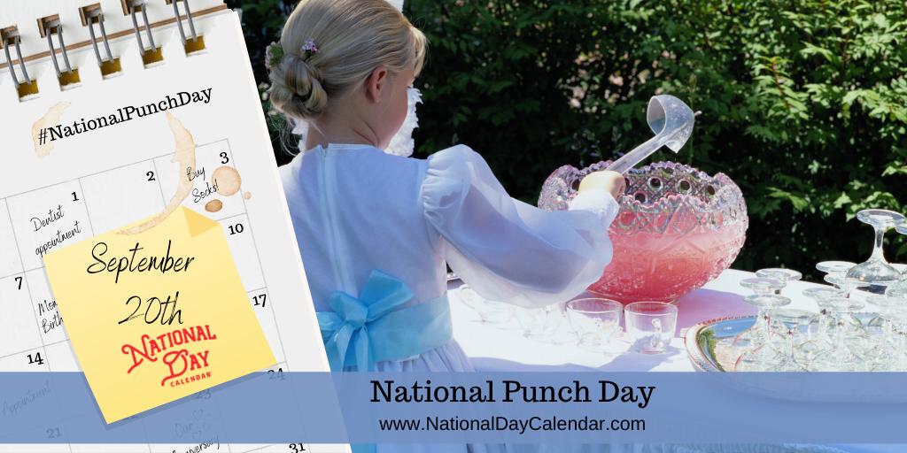 NATIONAL PUNCH DAY – September 20
