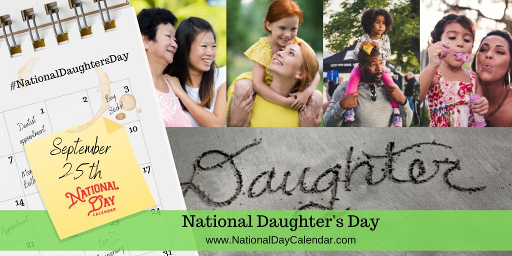 National Daughter's Day - September 25