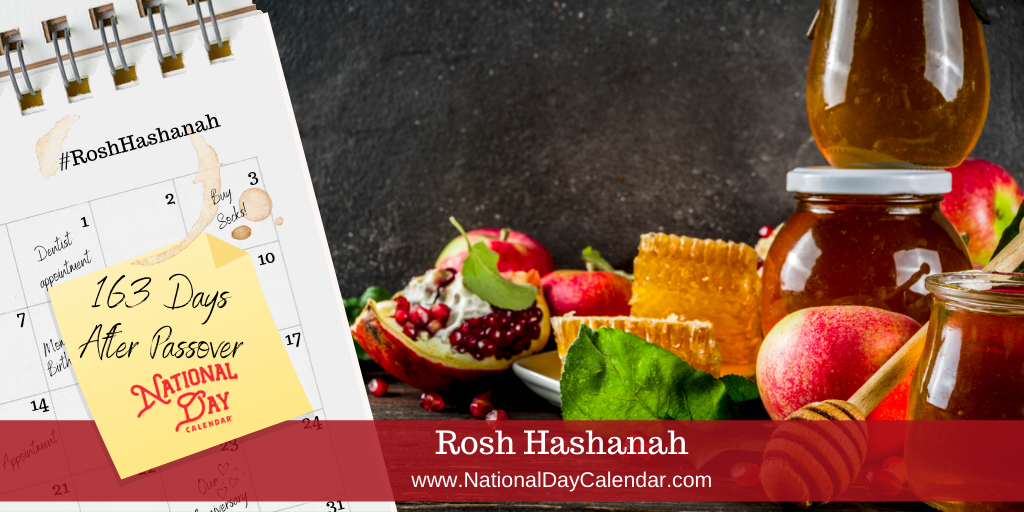 Rosh Hashanah - 163 Days After Passover