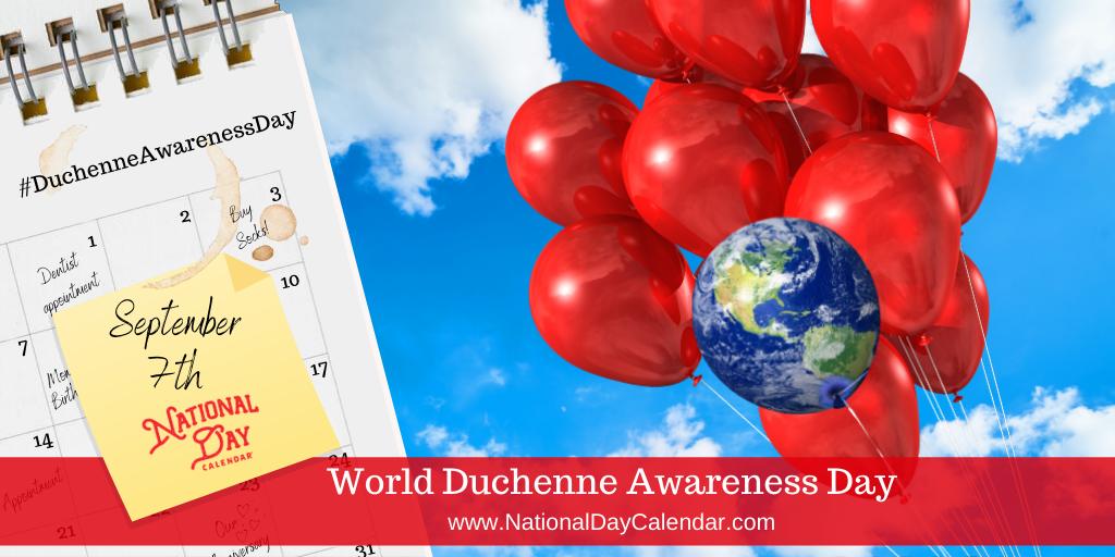 World Duchenne Awareness Day - September 7