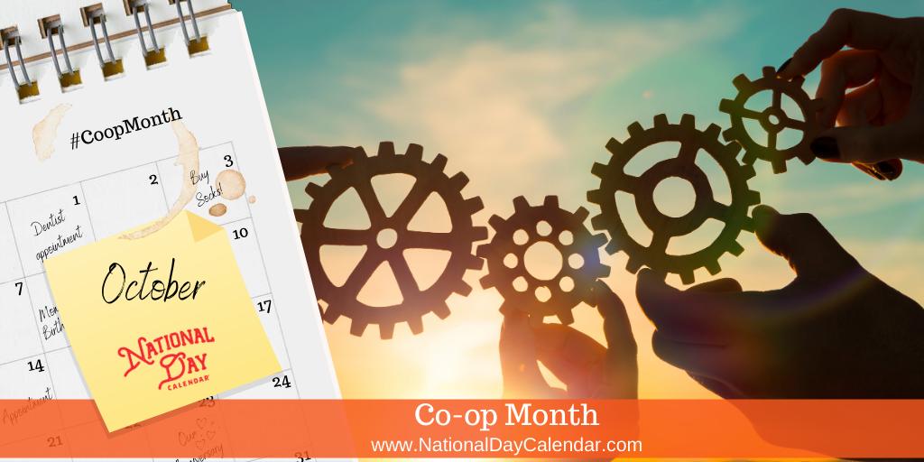 Co-op Month - October