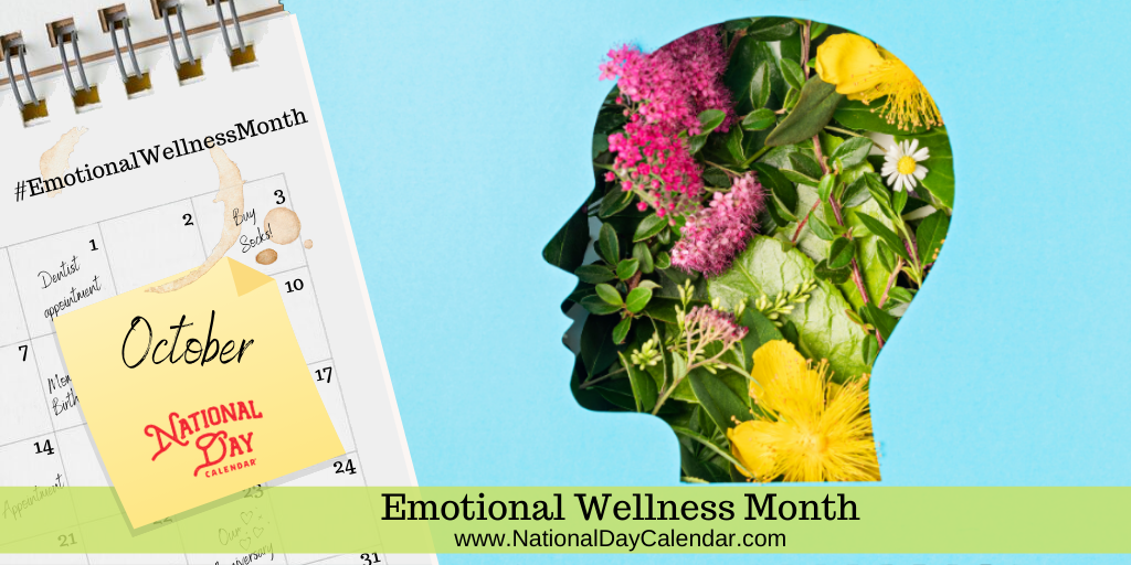 Emotional Wellness Month - October