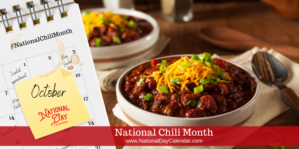 National Chili Month - October