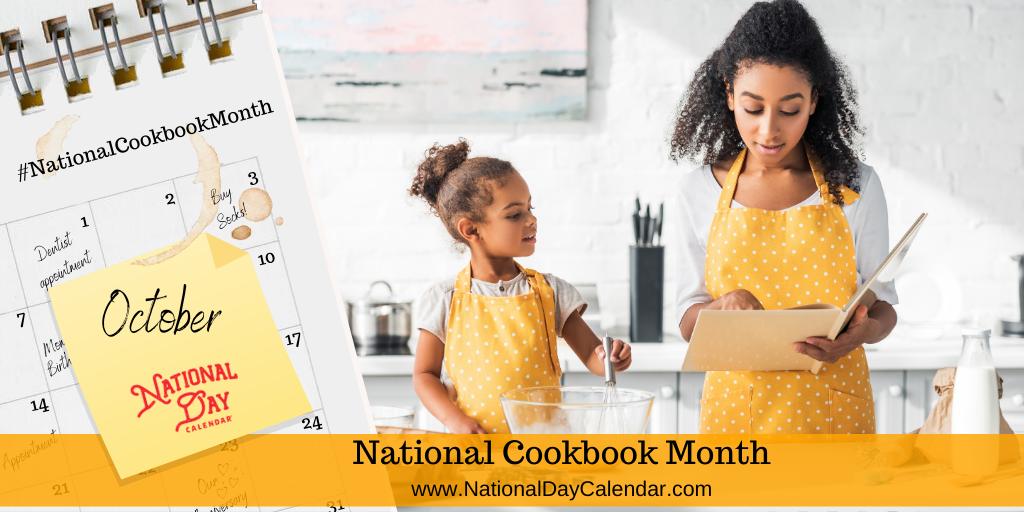 National Cookbook Month - October