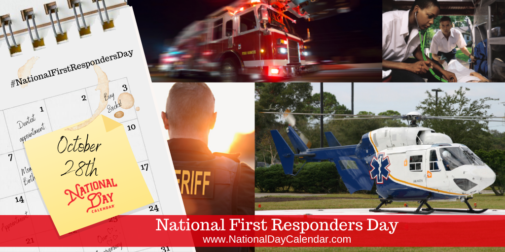 National First Responders Day - October 28