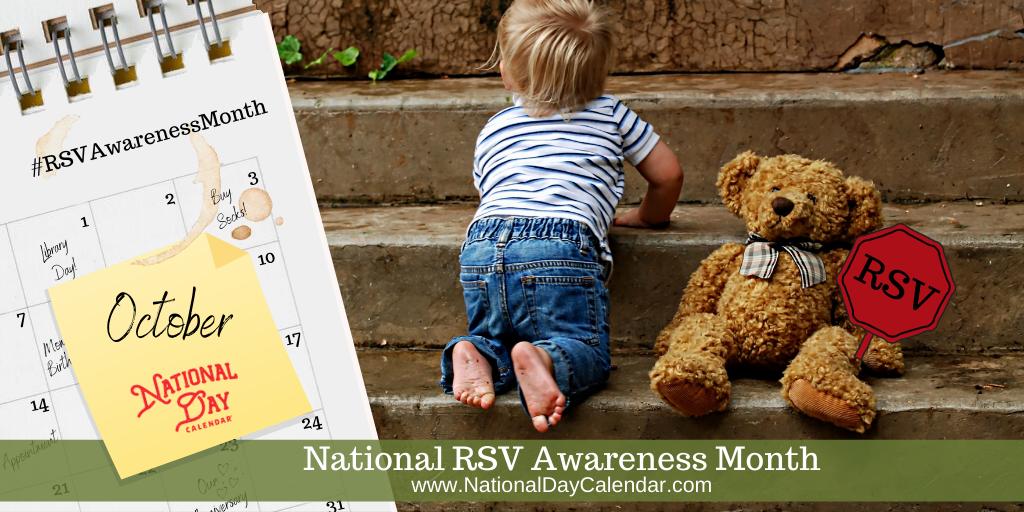 National RSV Awareness Month - October