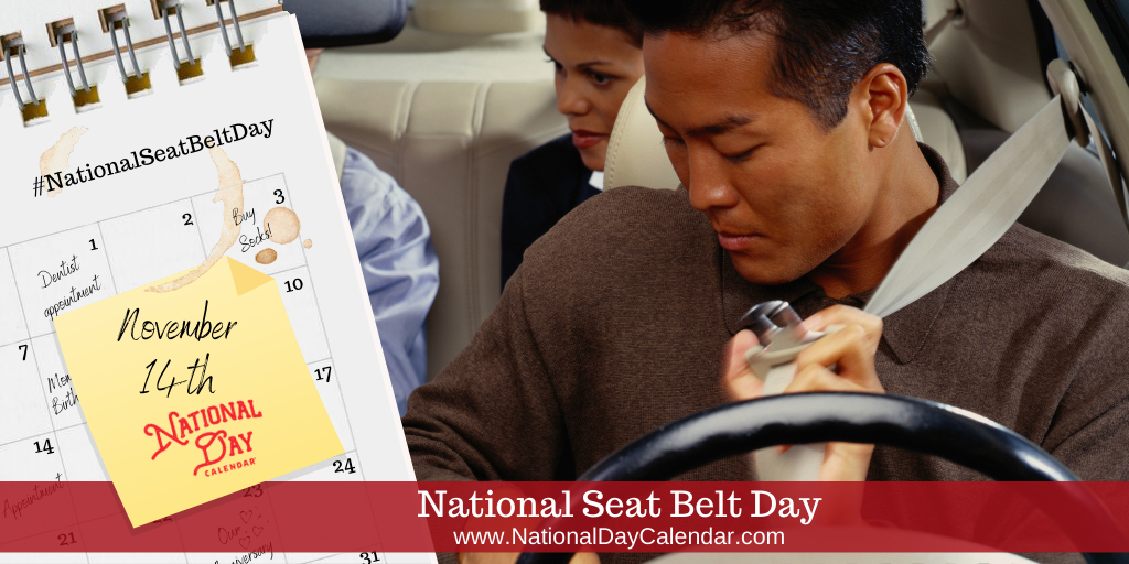 National Seat Belt Day - November 14